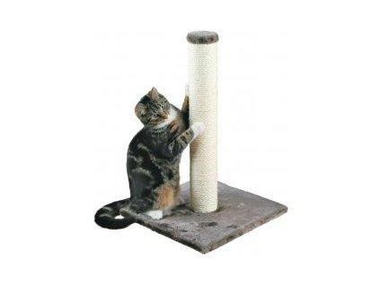 Škrábadlo PARLA válec 90 mm/62 cm na podestě 40 x 40cm - šedé