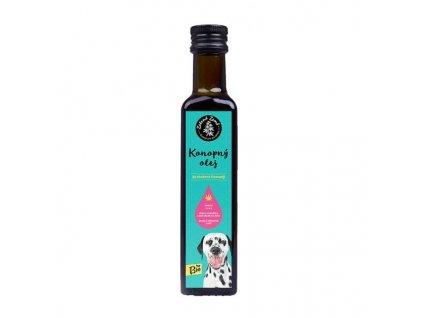 Konopný olej pro zvířata BIO 500ml