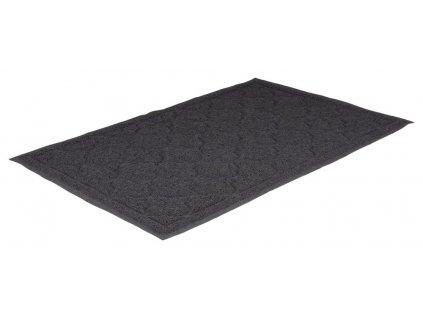 PVC předložka XXL k WC 60 x 90 cm, antracit