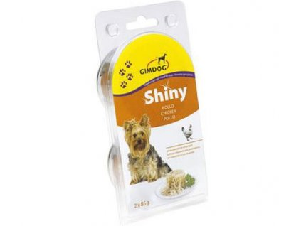 Gimdog konzerva ShinyDog kuře 2x85g