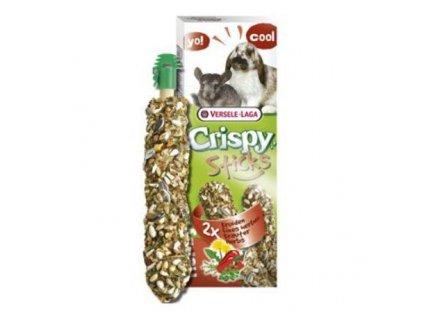 VERSELE-LAGA Crispy Sticks pro králíky/činčily Bylinky 110g