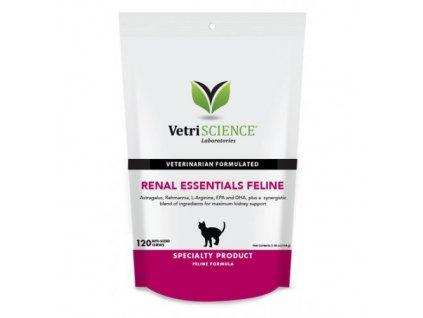VetriScience Renal Ess. Feline podp.ledvin kočka 144g