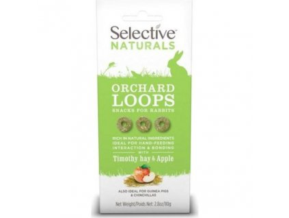 Supreme Selective Naturals snack Orchard Loops 60g