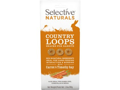 Supreme Selective Naturals snack Country Loops 80 g