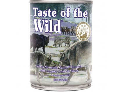 TASTE OF THE WILD SIERRA MNT. KONZERVA 375G