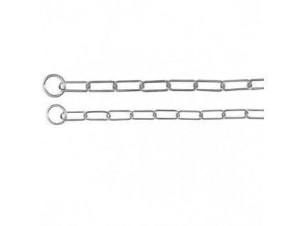 Stahovací obojek jednořadý velká oka 55cm/3mm