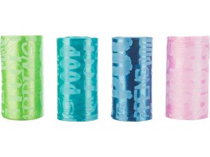 Náhradní barevné sáčky na trus M 8 rolí á 20 ks