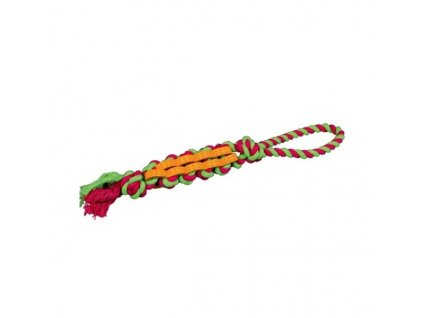DENTAFun propletenec bavlna/guma na laně malý 4 cm/37 cm