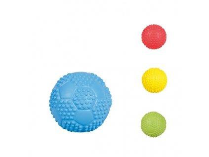Sportovní míč z tvrdé gumy se zvukem 7 cm