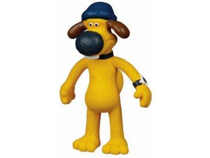 Latexový pes Bitzer 18 cm z pohádky Ovečka Shaun