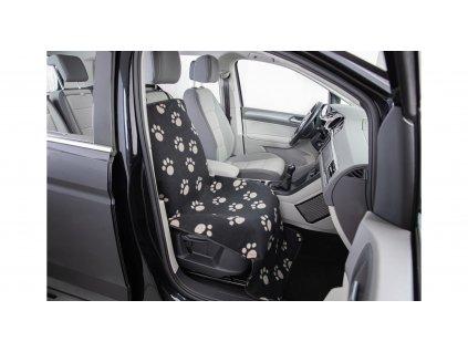 Autopotah nylon/flíz, i na přední sedadlo 0,65 x 1,45 m