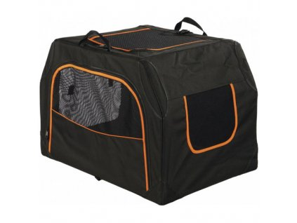 Transportní nylonový box Extend S-M 68x47x48cm černo/oranž