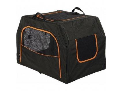 Transportní nylonový box Extend M 84x54x55cm černo/oranžový