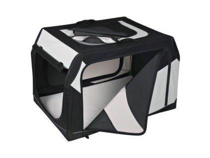 Transportní nylonový box Vario S 61x43x46 cm černo-šedý