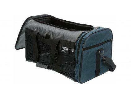 Taška DeLuxe SAMIRA 52x32x31cm max. do 12kg - hnědo/béžová