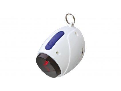 Laserová hračka pro kočky 11 cm, bílo/modrá