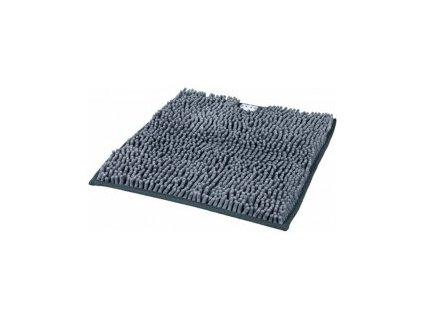 Rohožka ke kočičí toaletě 38 x 38 cm šedá