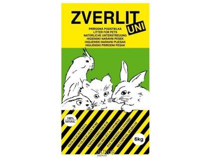 ZVERLIT UNI zelený-univerzální podestýlka 6kg