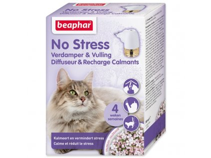 BEAPHAR DIFUZÉR NO STRESS SADA PRO KOČKY (30 ML) - antistresový přípravek