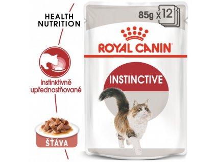 ROYAL CANIN Instinctive Gravy  12X85G (BAL.)  Instinctive Gravy kapsička pro kočky ve šťávě