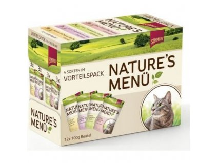 SCHMUSY CAT NATURE MENU 12X100 G
