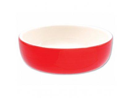 Miska MAGIC CAT keramická červená 14,5cm