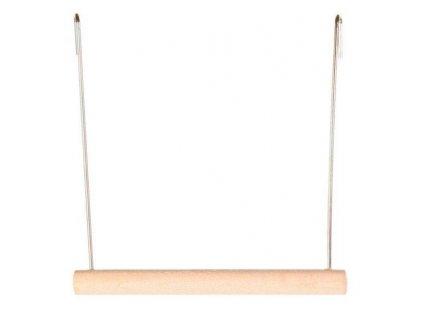 Dřevěná houpačka 12x13cm