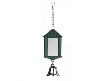 Zrcátko lucerna se zvonečkem 6cm