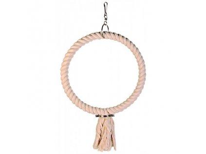 Závěsný bavlněný kruh s uzlem 25cm TRIXIE