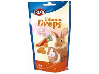 Vitamin Drops s karotenem pro hlodavce 75g