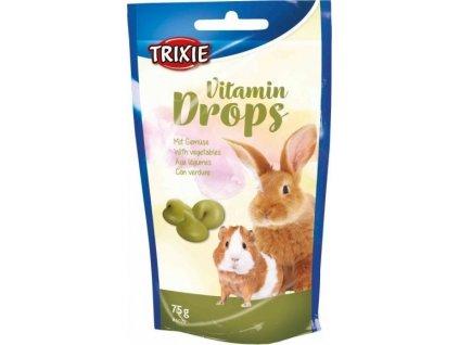 Vitamin Drops se zeleninou pro hlodavce 75g