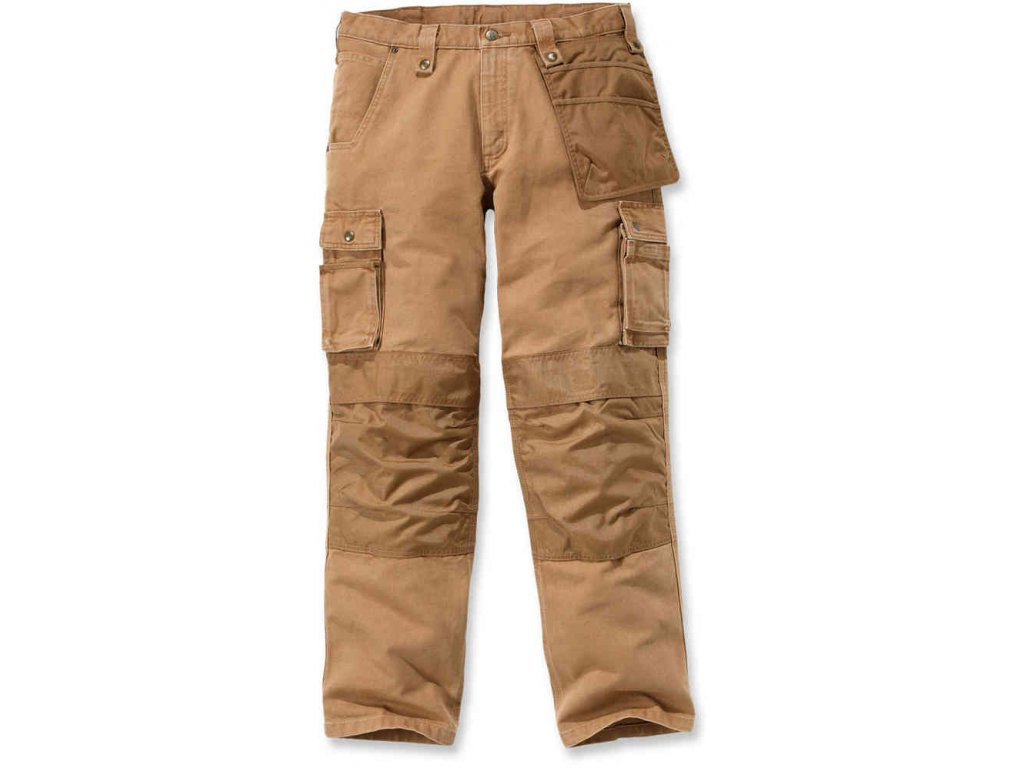 Kalhoty Carhartt Multi Pocket Wasched Duck Pant