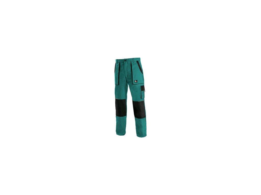 Pánské zimní kalhoty CXS LUXY JAKUB, zeleno-černé