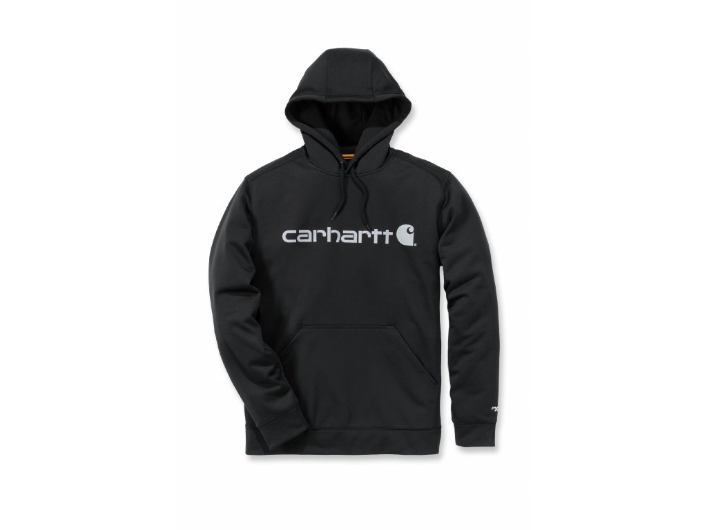 Mikina Carhartt černá Force Extremes Signature Graphic Hooded Sweat