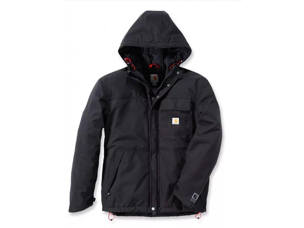 Bunda Carhartt černá Insulated Shoreline Jacket