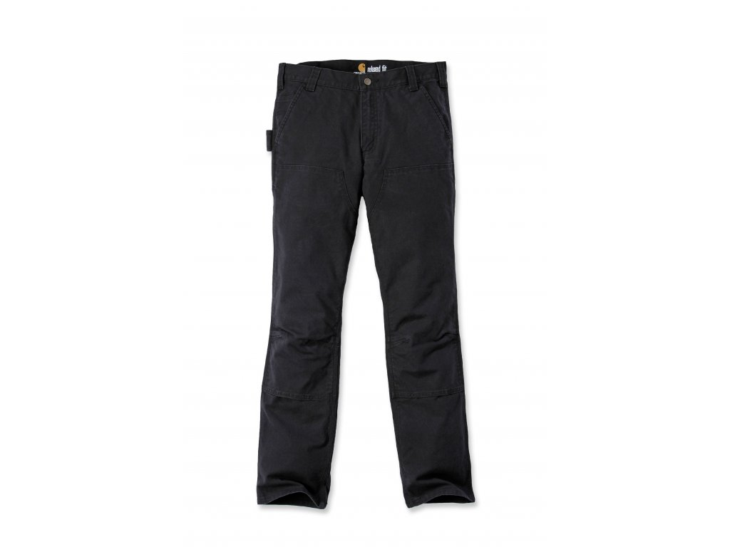 Kalhoty Carhartt Straight Fit Stretch Duck Double Front