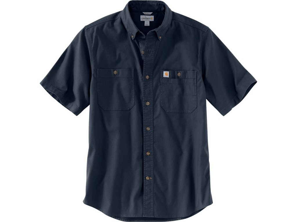 Košile Carhartt Rugged Flex Rigby Short-sleeve Work Shirt