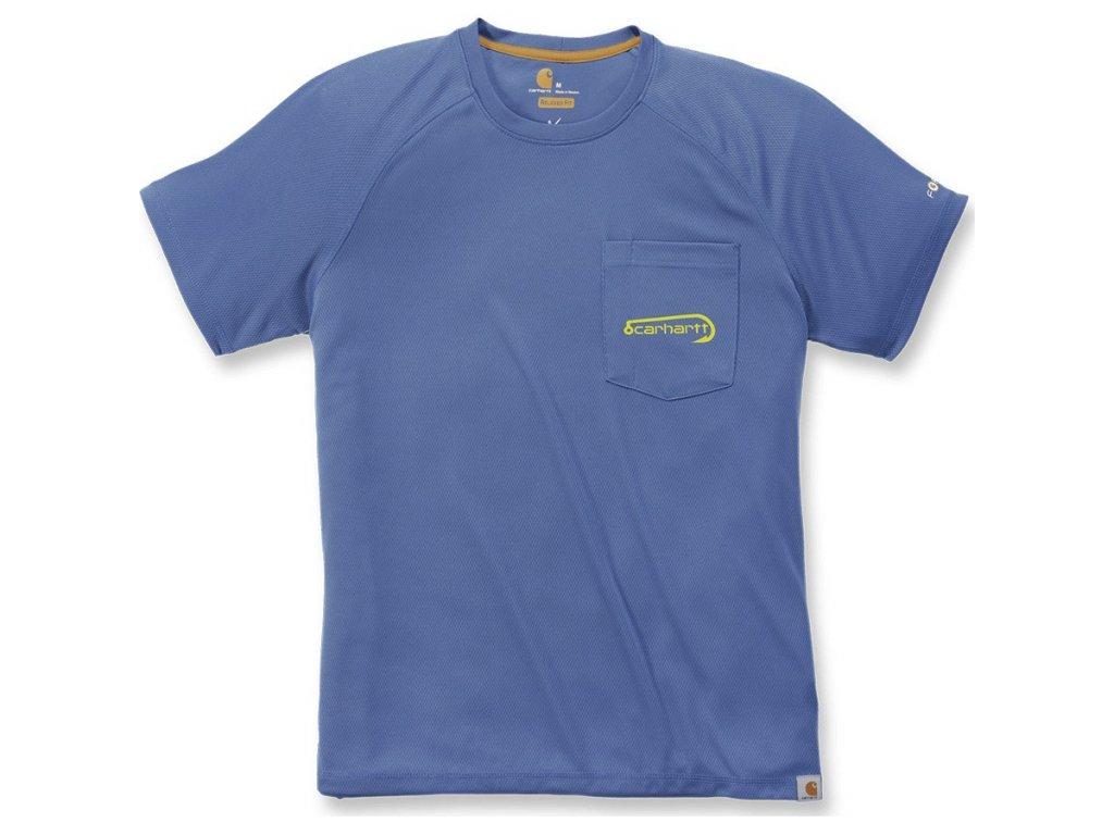 Triko Carhartt Force Fishing Graphic Short-Sleeve  T-shirt