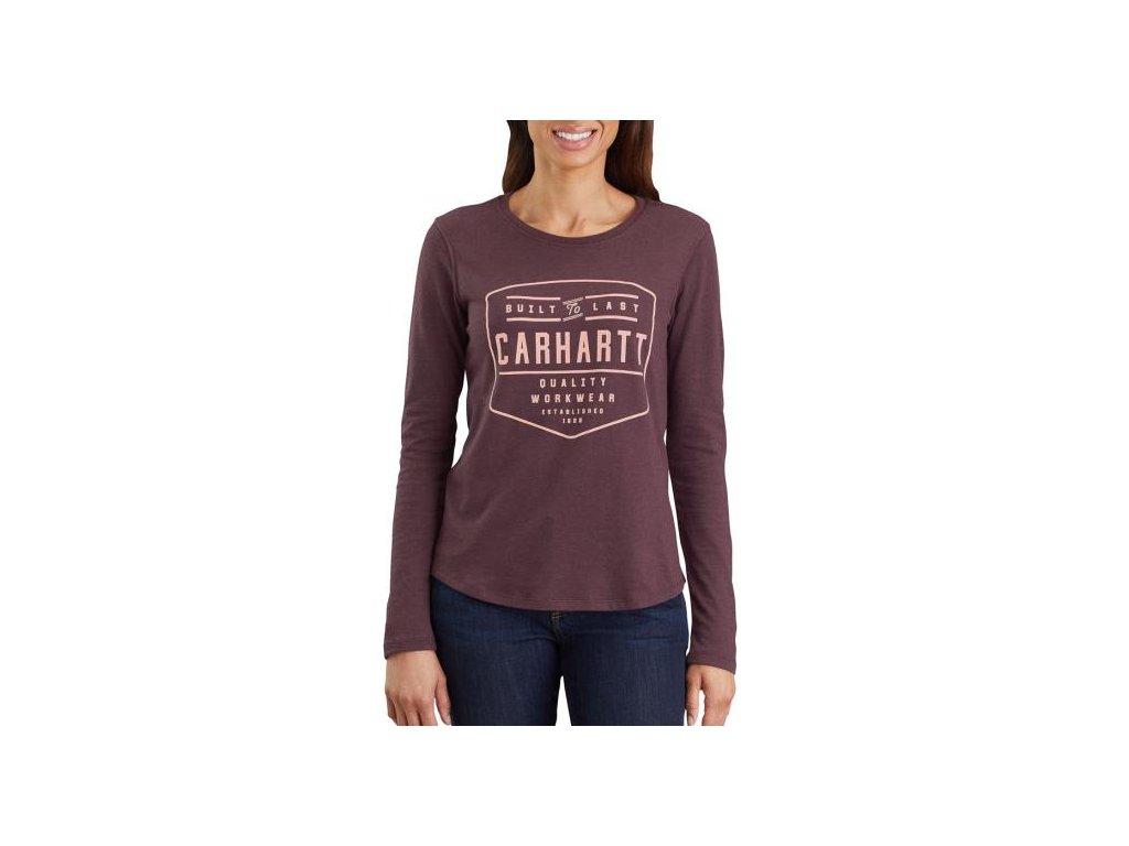 Dámské triko Carhartt Lockhard Graphic Long Sleeve T-shirt