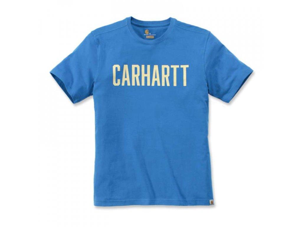 Triko Carhartt Southern Block Logo T-Shirt