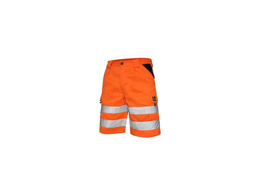 Kraťasy NORWICH, výstražné, pánské, oranžové