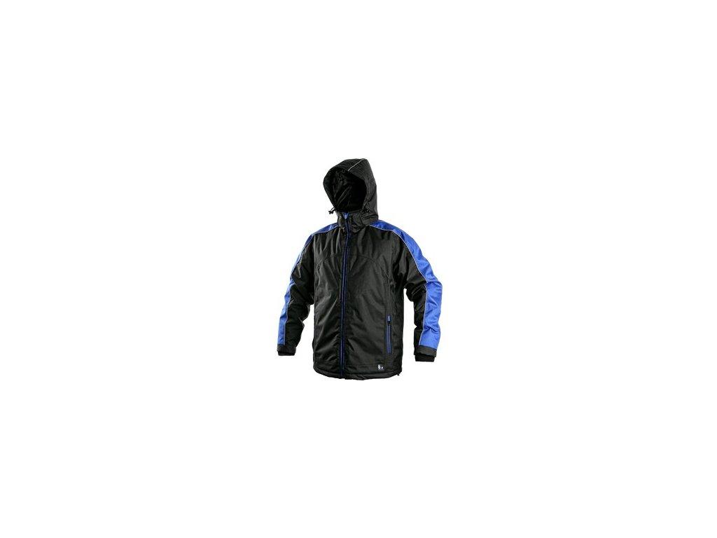 Pánská zimní bunda BRIGHTON, černo-modrá