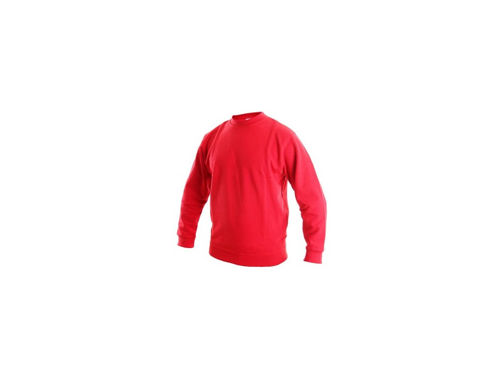 Unisex mikina ODEON, červená
