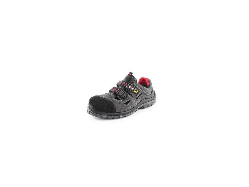 SObuv sandál CXS ROCK ESD GALLITE S1P, šedý