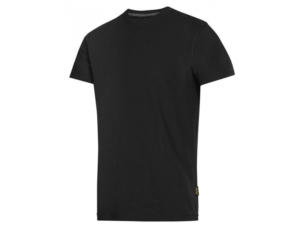 Triko Classic s krátkým rukávem černé