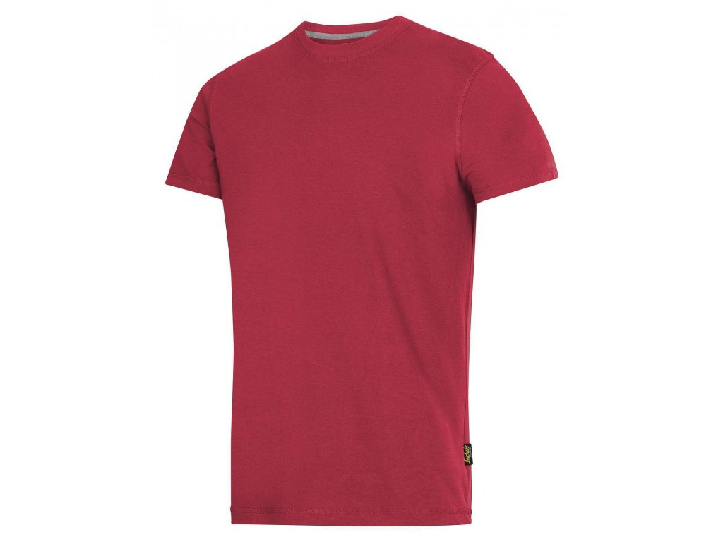 Triko Classic s krátkým rukávem červené
