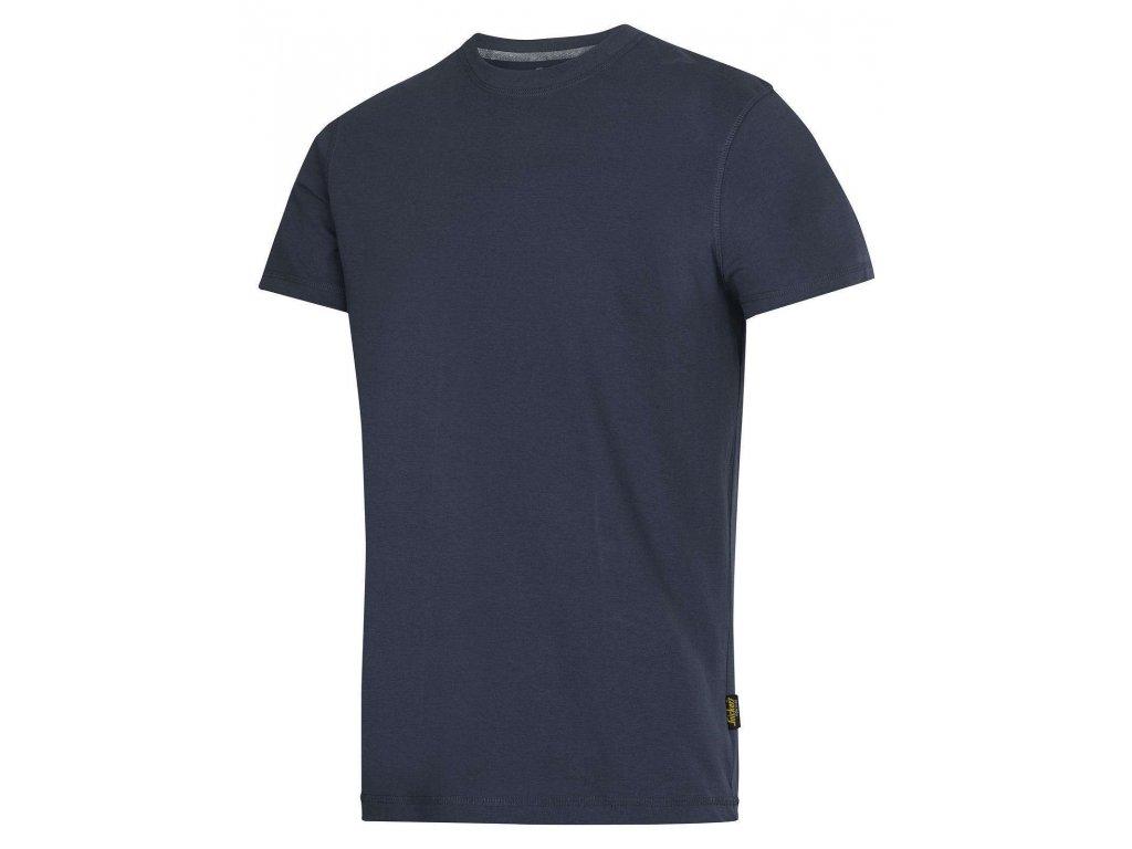 Triko Classic s krátkým rukávem tm. modré