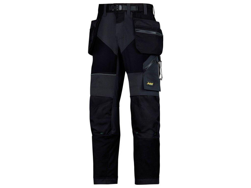 Kalhoty FlexiWork sPK černé