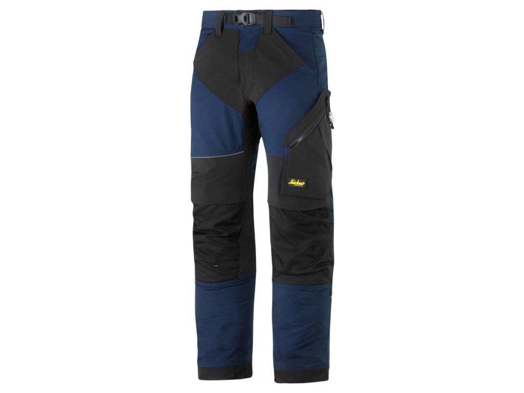 Kalhoty FlexiWork tm. modré