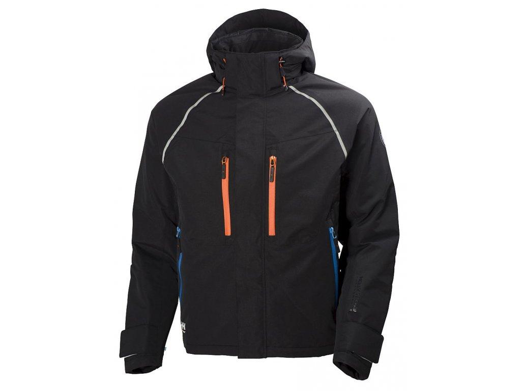 Zimní bunda Arctic - černá/oranžová XS